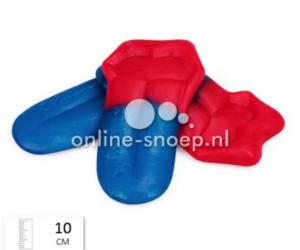 blauw rode tong groot