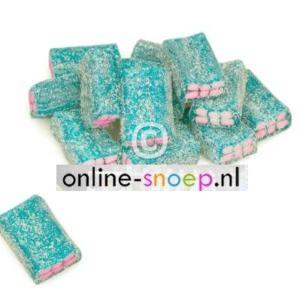 Bricks bubblegum blauw