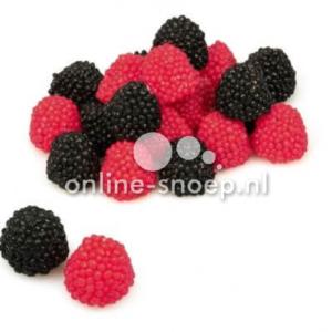 berries haribo bramen en frambozen