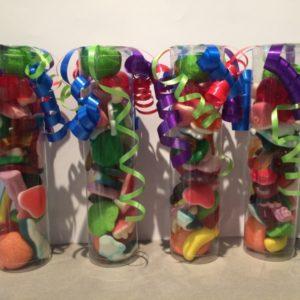 Snoepkoker gevuld met kindersnoep 15 cm
