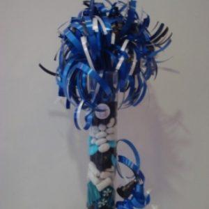 Snoepkokers /drop 25cm blauw