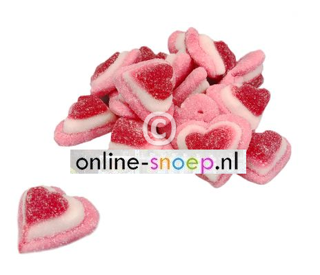 tricolor hearts