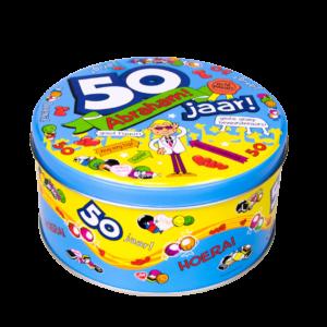 Snoeptrommel 50 jaar