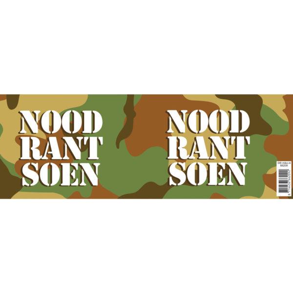 blik Noodrantsoen