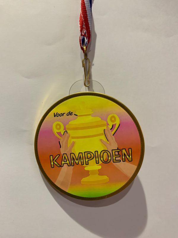 Choclade medaille Kampioen