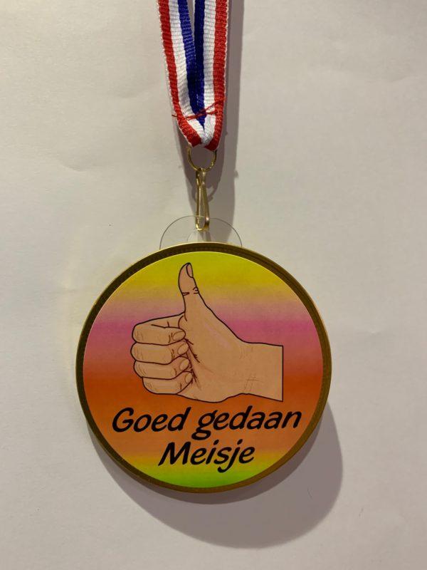 medaille meisje