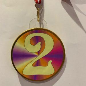 Chocolade medaille nummer 2